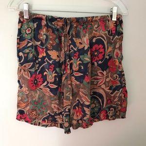 Vintage Victoria's Secret gold label silk boxers
